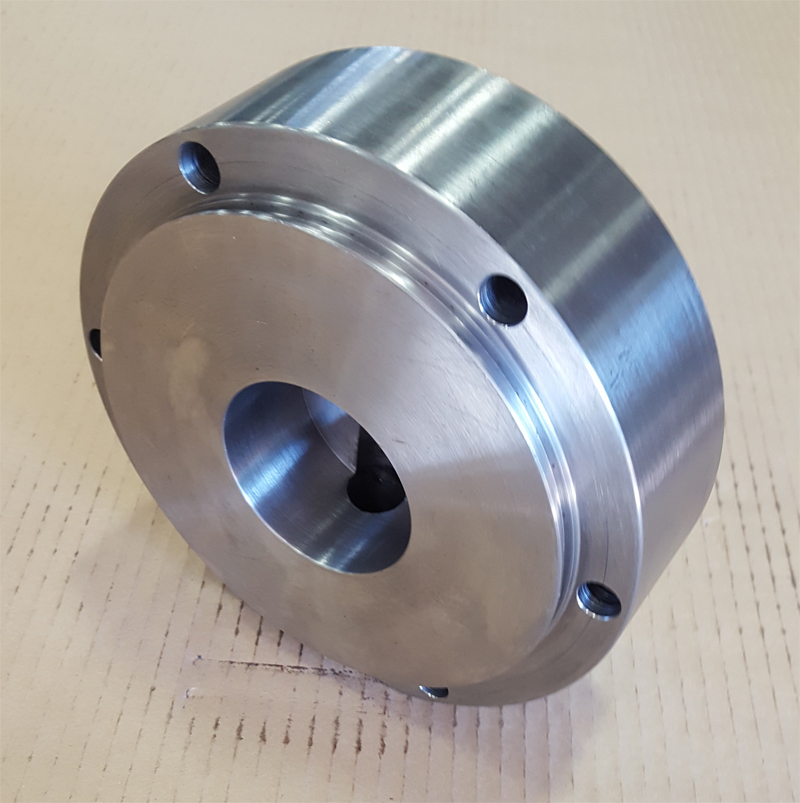 Machined Cylinder End Cap